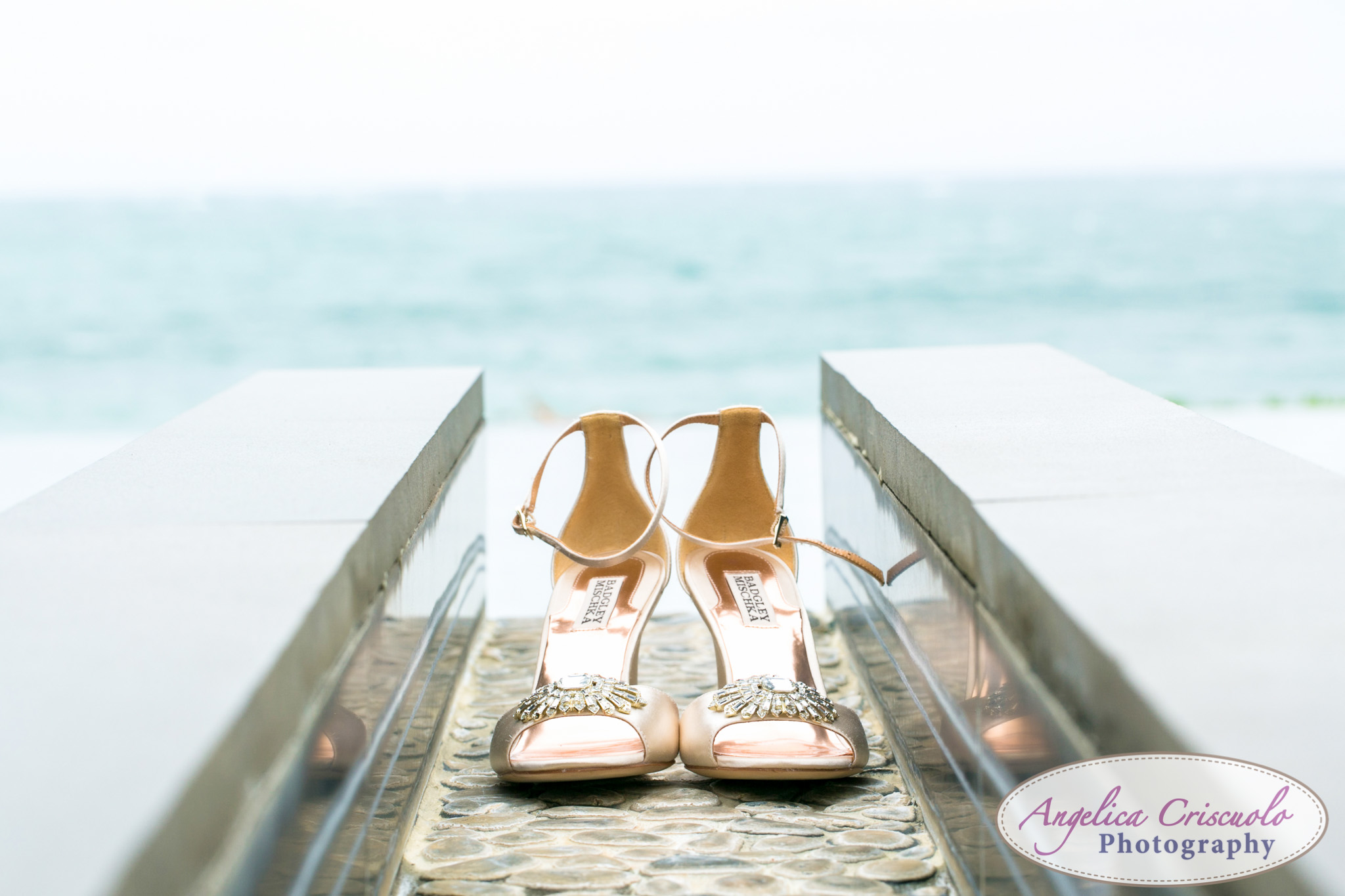Oahu Hawaii Destination Wedding Photos SHoes