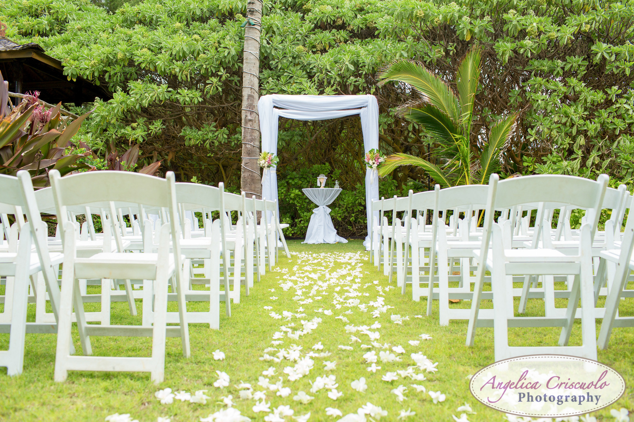Oahu Hawaii Destination Wedding Photos ceremony