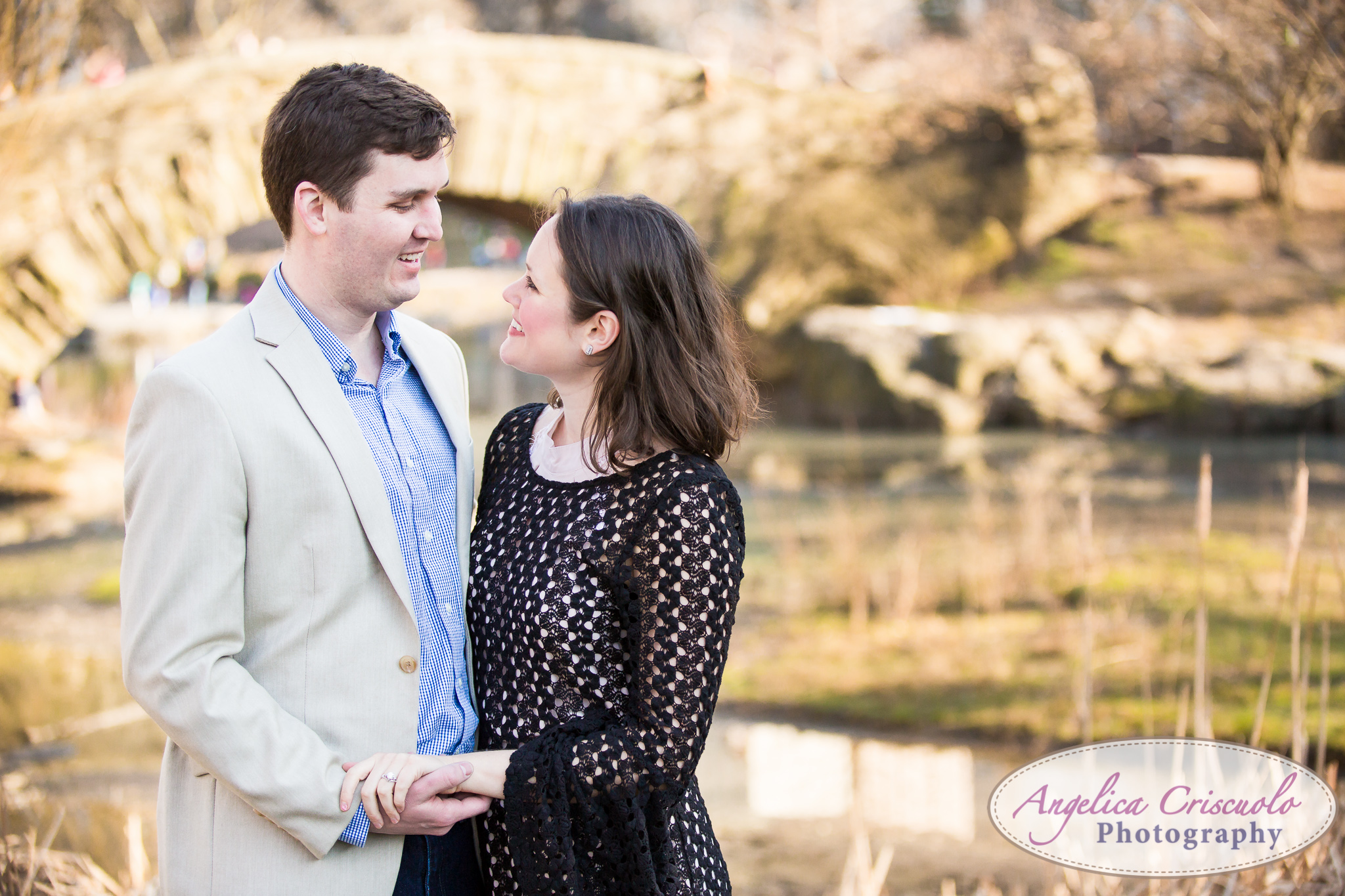 Washington DC and NYC Wedding Proposal in Central Park engagement