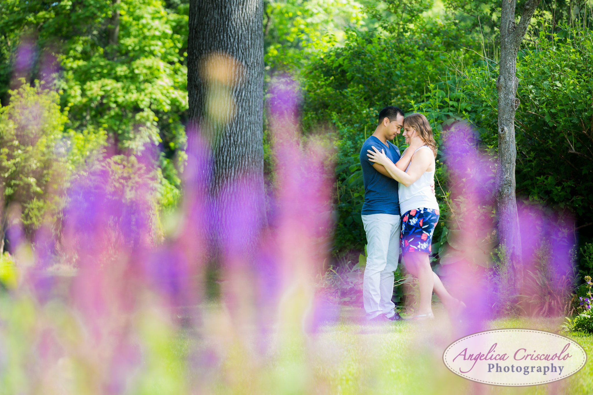 New Jersey Botanical Garden Engagement Photos