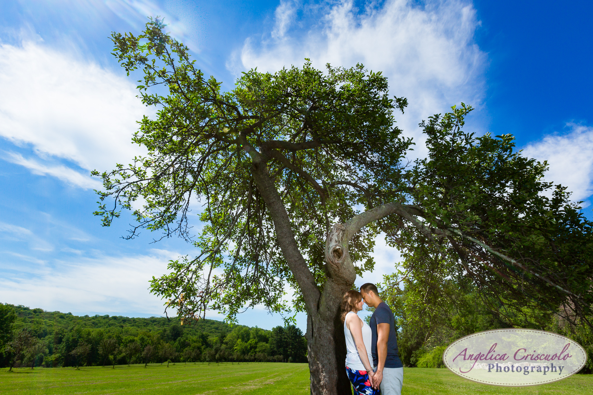 Dramatic engagement photos in New Jersey Wedding photographer