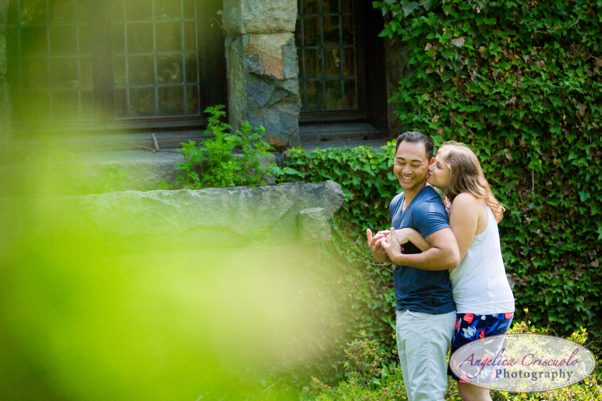 Fun engagement ideas and poses New Jersey wedding photographer