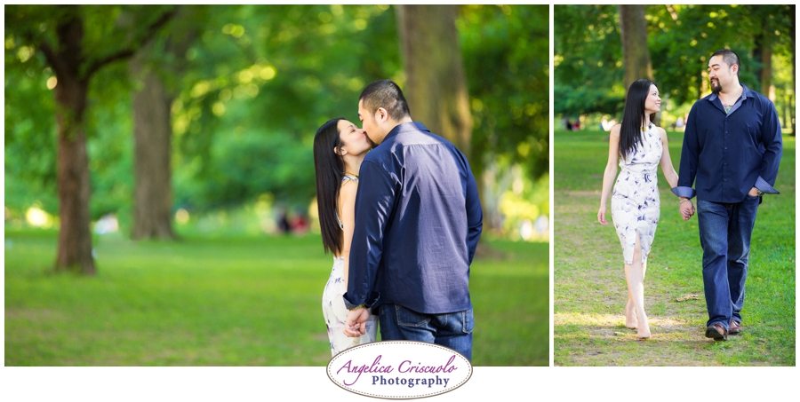 Centra Park Engagement Photographer photo ideas walking poses