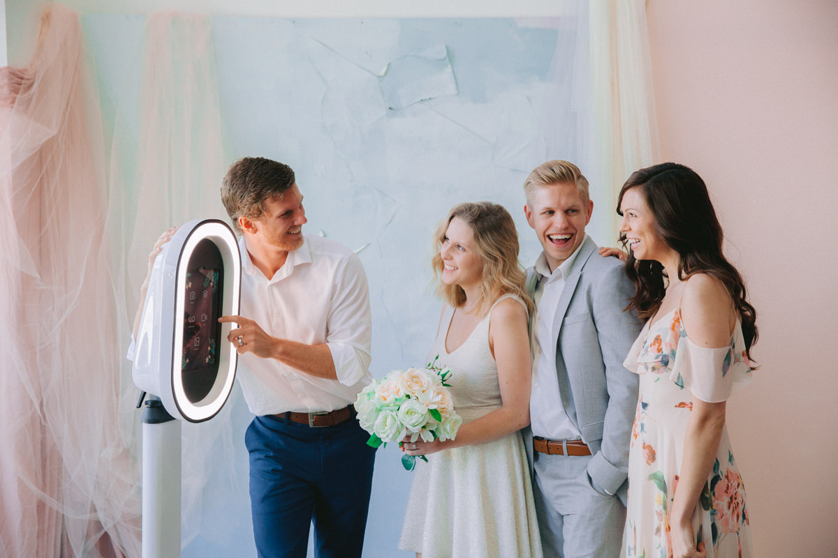 Copy of New Jersey Wedding Photobooth with Boomerang, Gif and video