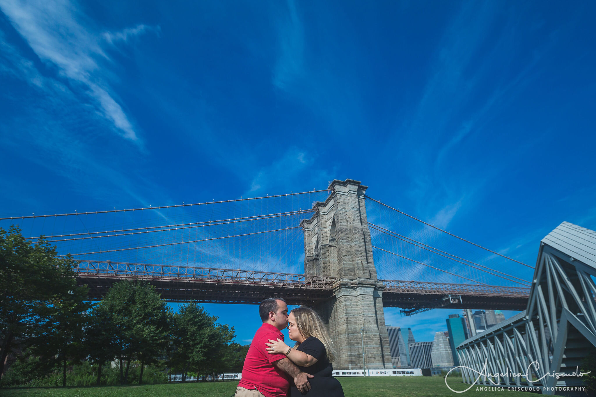 New York DUMBO Brooklyn Engagement Wedding Photos ©2019 Angelica Criscuolo Photography | All Rights Reserved | www.AngelicaCriscuoloPhotography.com | www.facebook.com/AngelicaCriscuoloPhotography