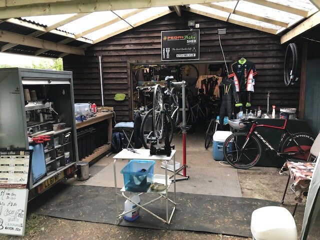 The Secret Garden Cafe and Pedal Bike Workshop when you see the flag flying we're open - NE42 6HH High Hermitage Caravan Park, Ovingham...Look for the signs on Ovingham RoadClosed Nov 2019 open Dec 2019 text for details