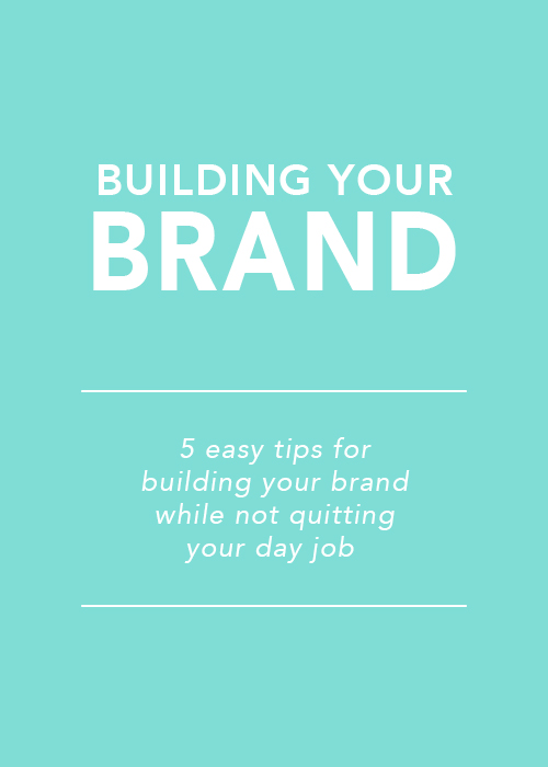 Building Your Brand // digital-couture