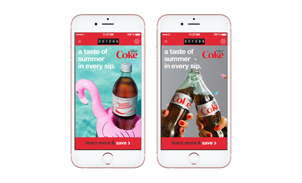 Diet Coke Engagement Points