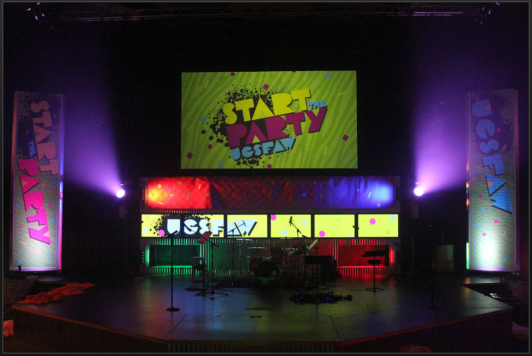 Digital and Print Stage Graphics
