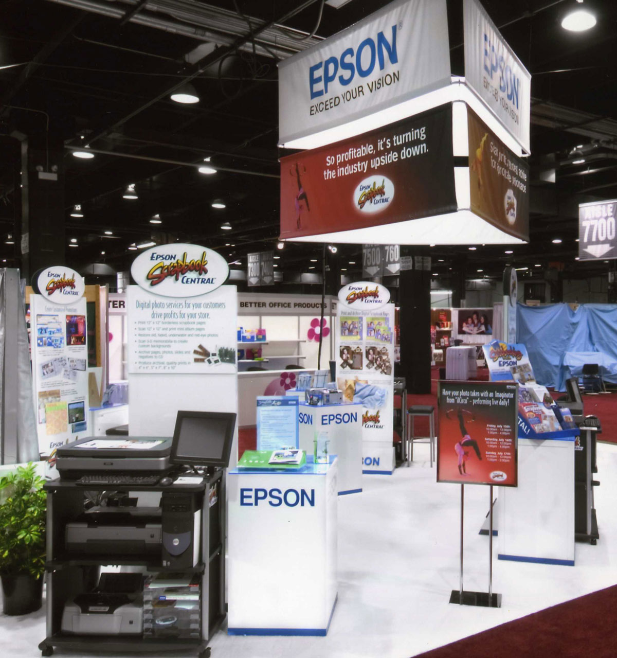 Epson Trade Show Signage