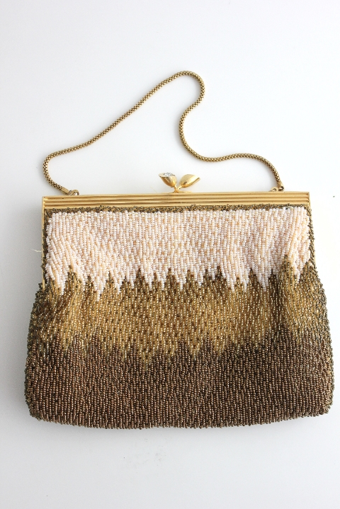 1960 Bead Bag