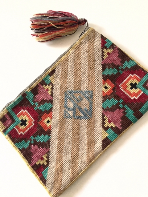 1930's Tapestry Purse