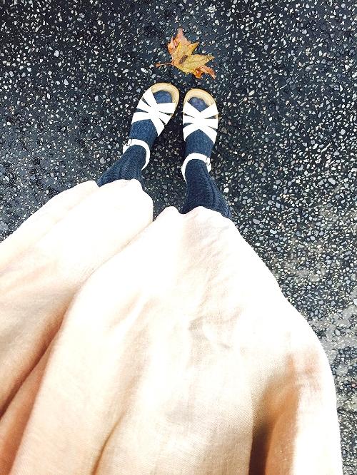 Autumn Sandals