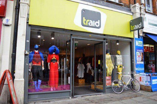 Traid - Camden High Street.
