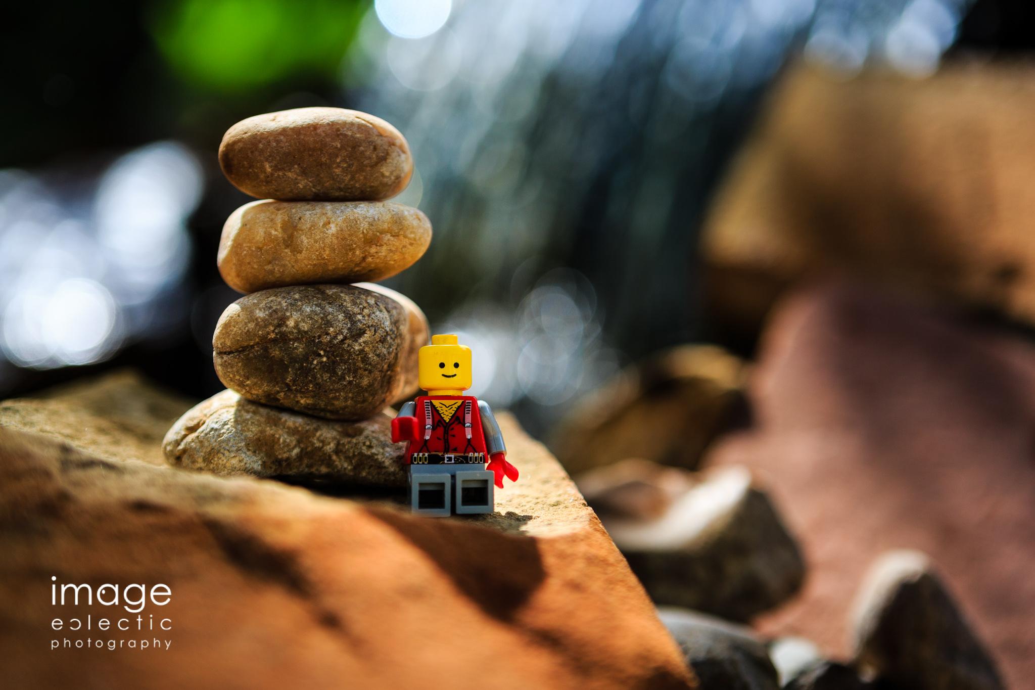 Lego Cairn