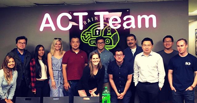 Together we can make great things  happen 🤝 At ACT, we work hard & play hard! . . . #team #transportation #engineering #civilengineering #together #consulting #family