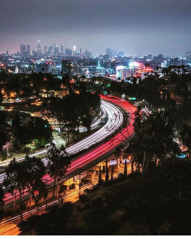 "Happy Friday!!! ""Scientists discover the world that exists; engineers create the world that never was."" Theodore von Karman . . #engineering #losangeles #engineers #city #beatiful #night #lights #buildings #bridges"