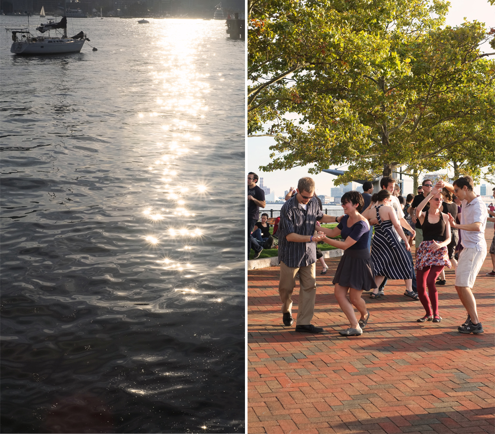 Boston Harbor & A little swing dancing at Piers Park