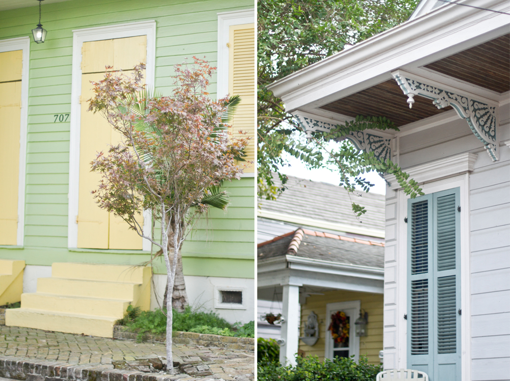 Colorful & charming colors in the Bywater.