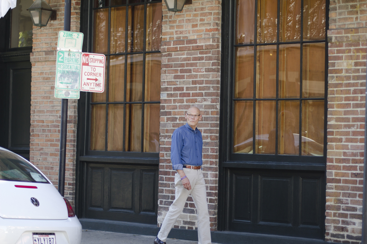 """James Carville (AKA """"The Ragin' Cajun"""") sighting in the French Quarter!"""