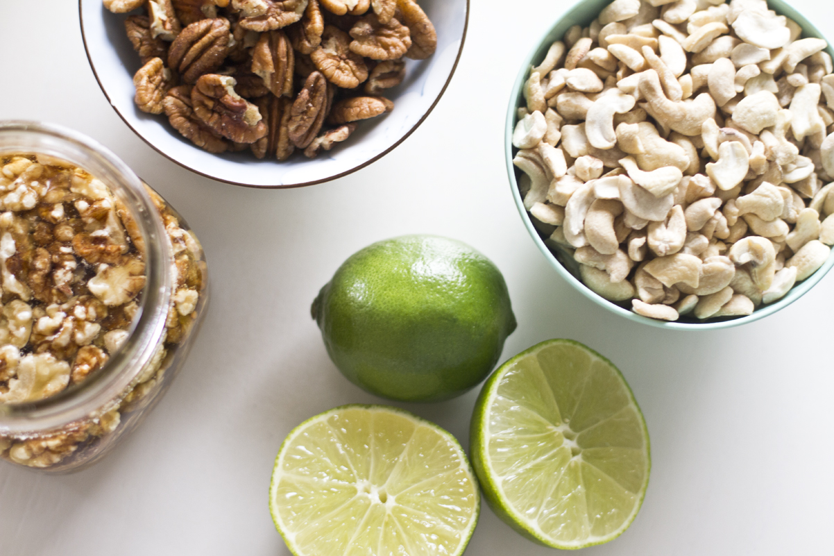 vegan raw key lime pie ingredients