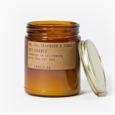 P.F. Candle Co. Teakwood & TobaccoCandle
