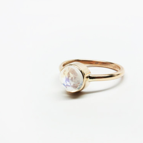 iadornu Moonstone 14k Gold Ring