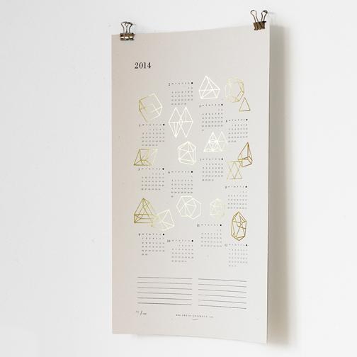 Julia Kostreva Letterpress/Gold Foil Prisms
