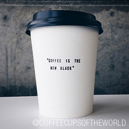 "We had one of those ""why didn't we think of that?!"" moments when we came across this awesome account. Coffee Cups of the World is a collection of just that: cool coffee cups from coffee shops around the world. Say that three times fast!"