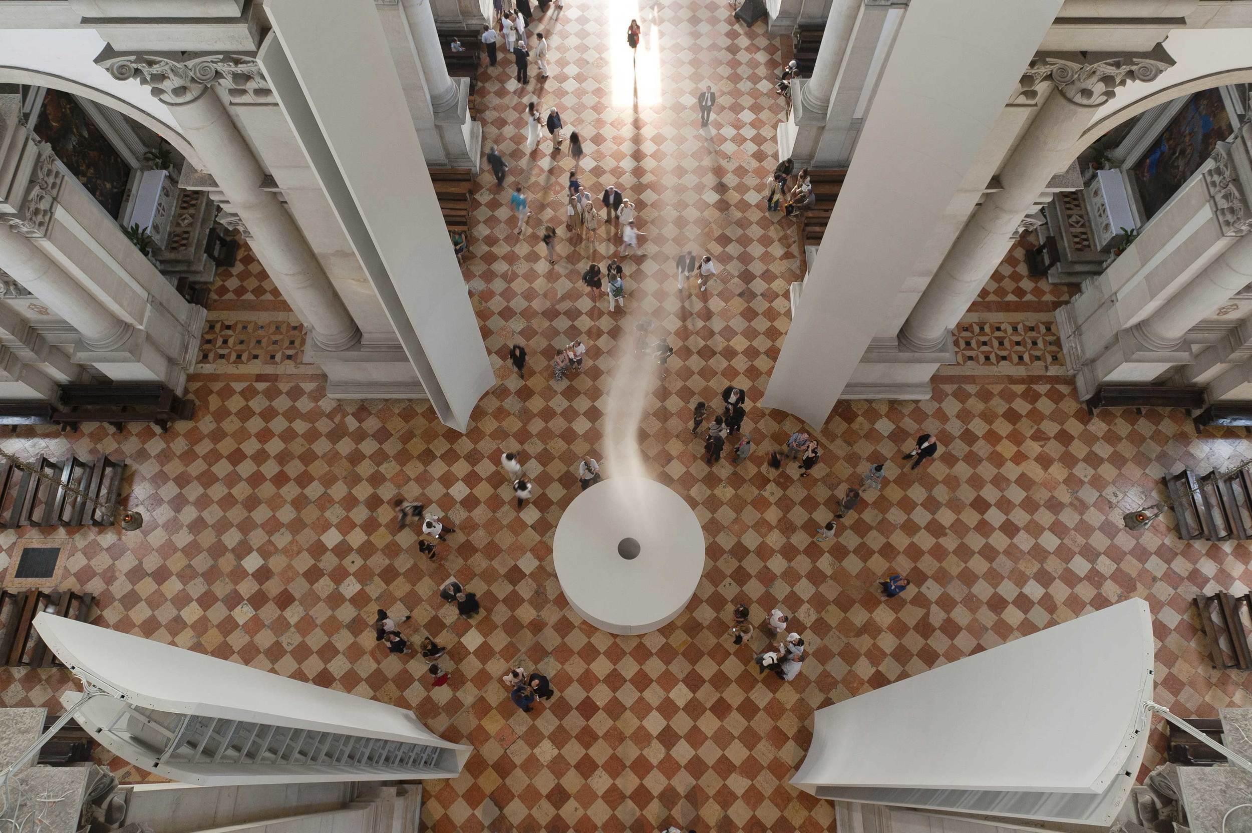 ASCENSION - Anish Kapoor   Vista dell'installazione / Installation View