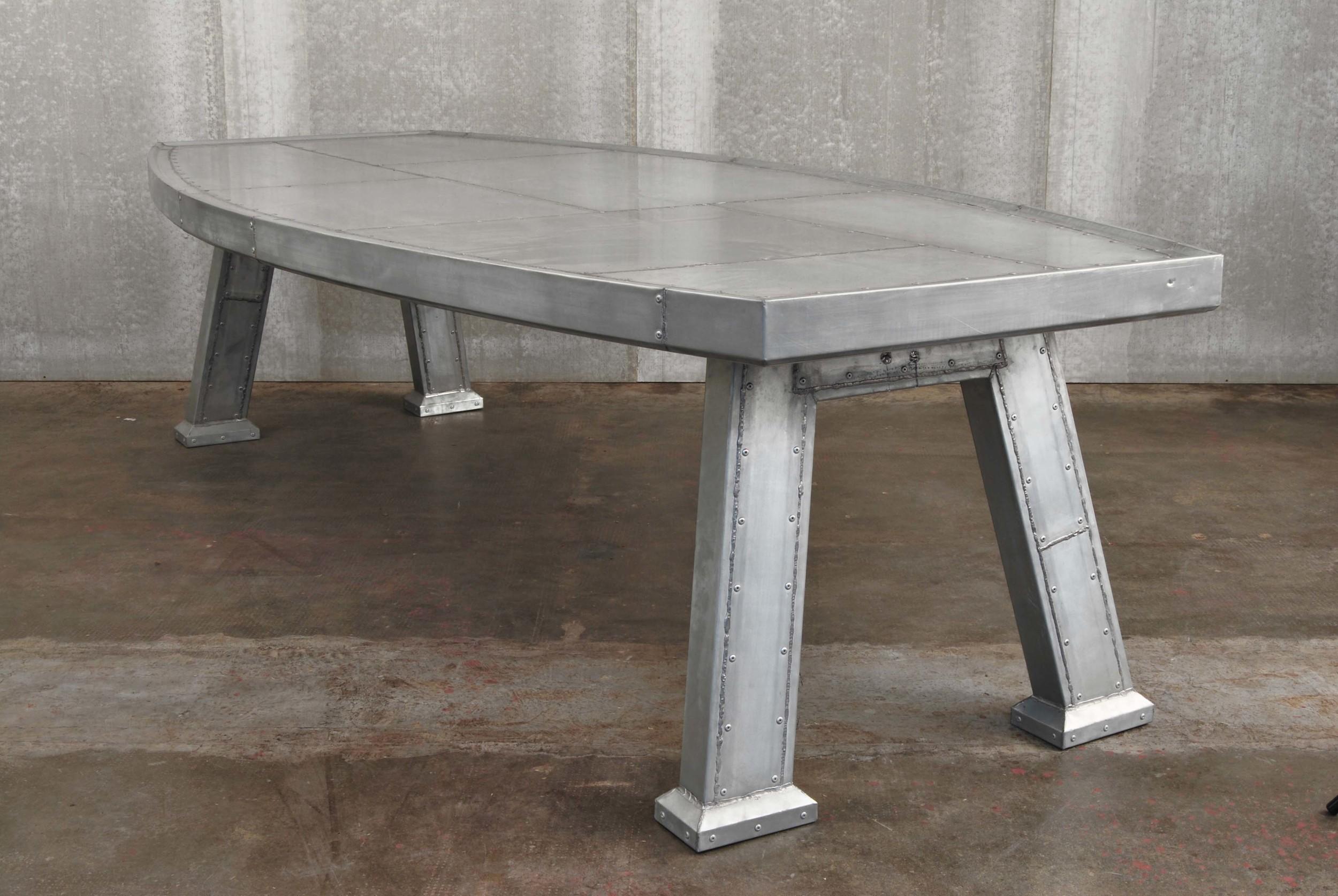 ORVETT for DIESEL - MASSICCIO TABLE, zinc