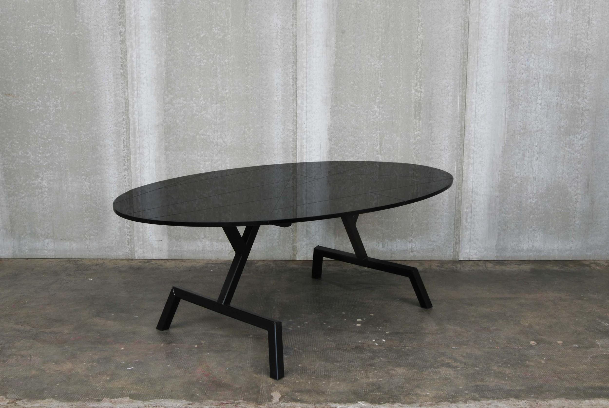 ORVETT for DIESEL - OVALONE TABLE, shiny MDF
