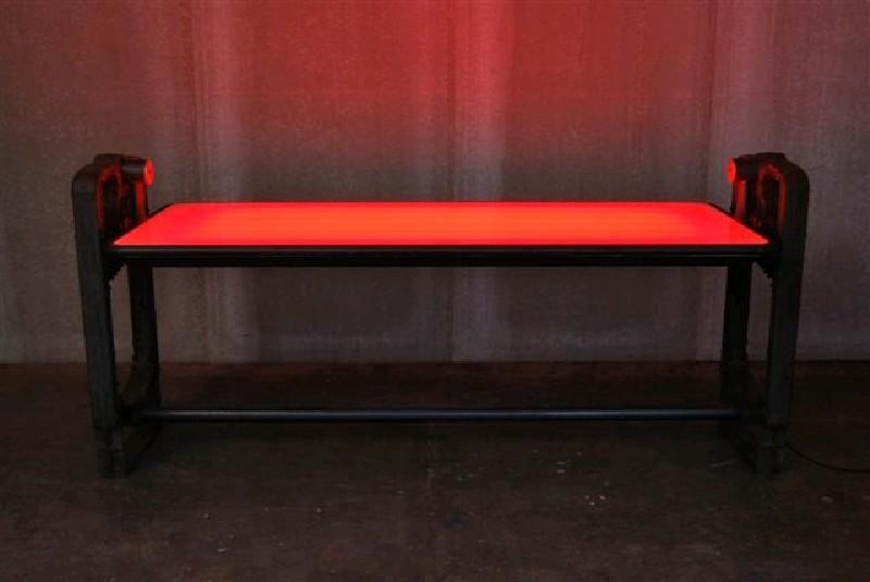 ORVETT for DIESEL - FUOCHISTA TABLE, backlighted top
