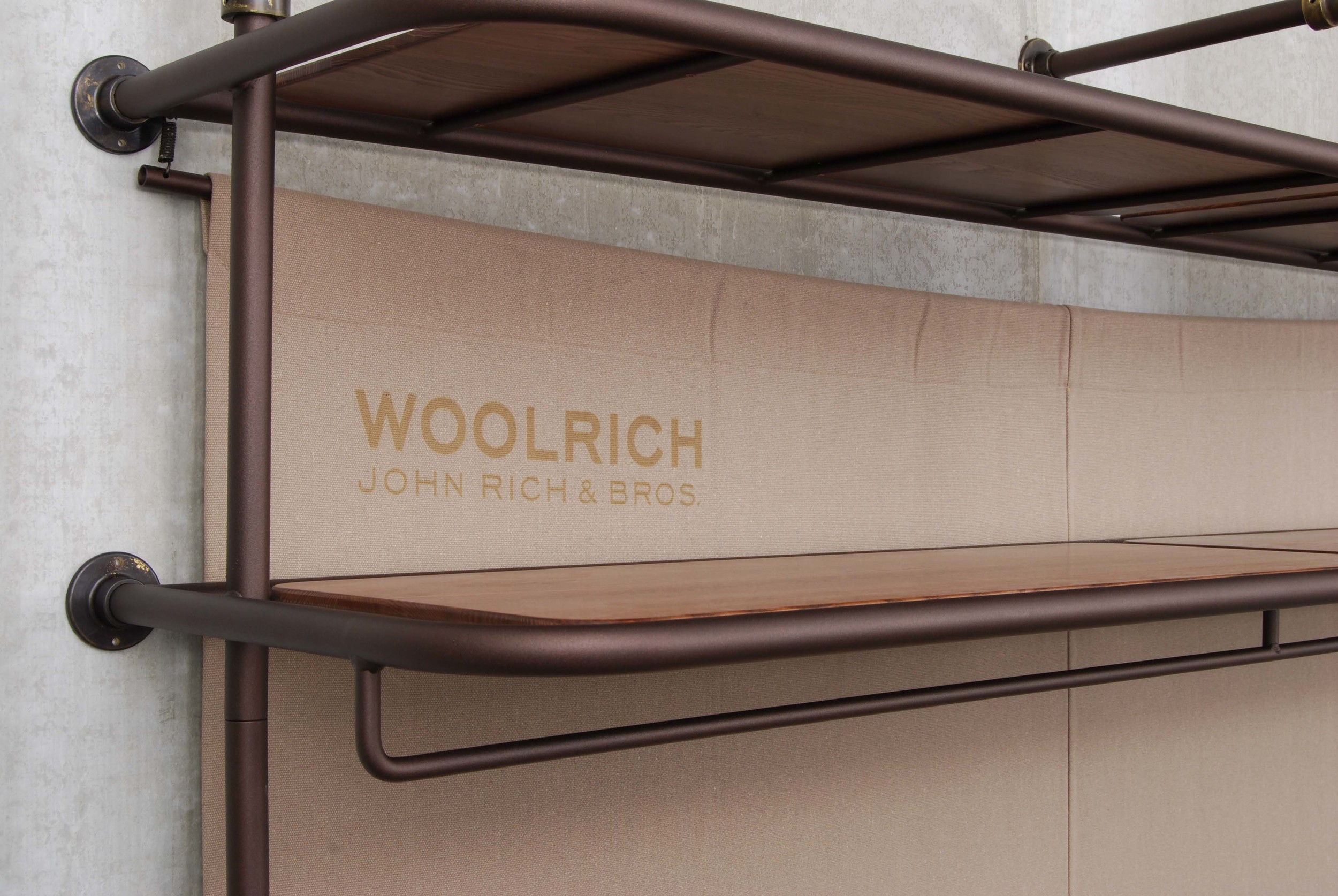 ORVETT for WOOLWICH - FRONTFACING, detail