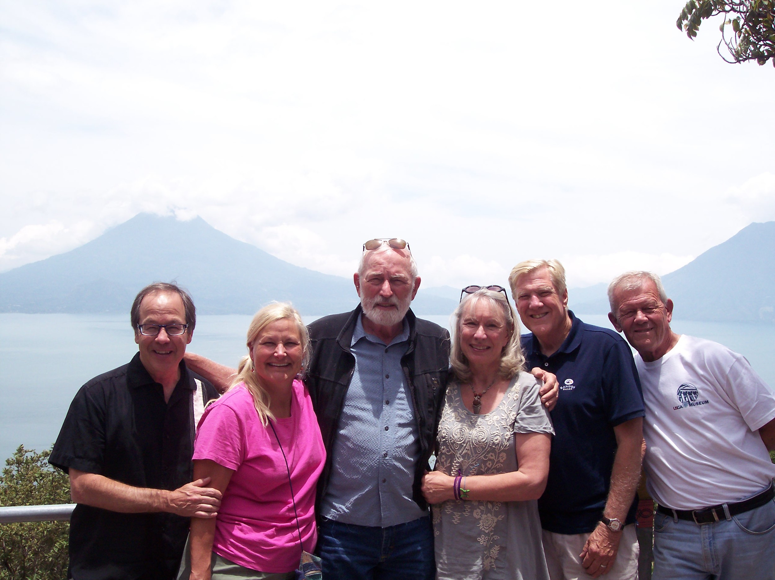 Pictured here, The Art Ambassador team: Kevin and Wanda Macpherson, John Vernelson, Ruth Heffron, Joel Heger, Jack Vogler