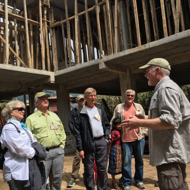 Xela AID CFO, Mel Dinkel, discusses the building project.