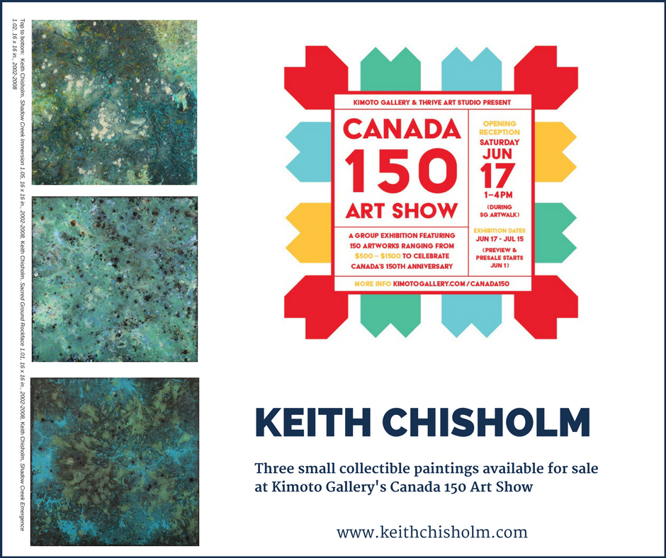 Work available in Vancouver at Kimoto Gallery
