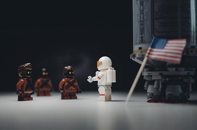 """No. We did not get your email."" #OnThisDay #MoonLanding #NASA #NeilArmstrong #MiniMalarkey . . . . . #toyphotography #legominifigures #legostagram #starwars #legoland #lego #minifigures #topToyPhotos #legophotography #legoaddict #legoart #brickcentral #lego_hub #stuckinplastic #toyartistry #bricknetwork #legophoto #artovercontent #condronphoto #irishartist #irishphotographer"