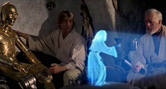 """""""Is she real? Or are we but shadows on Plato's cave?"""" C3PO wondered."""
