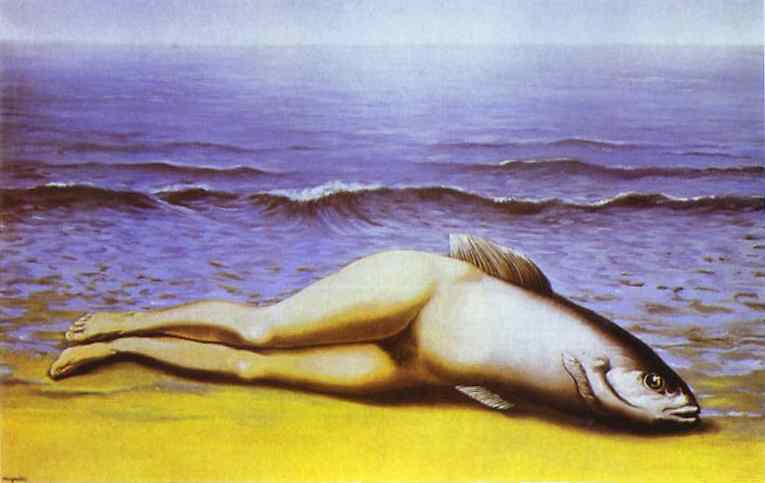 Unanticipated Outcome:  The Collective Invention (by  Rene Magritte ).