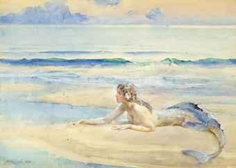 Original Plan:  The Mermaid (by  John Reinhard Weguelin ).