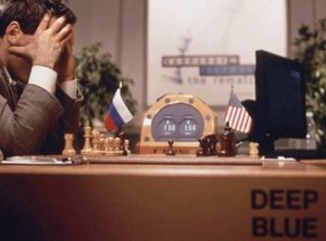 Kasparov vs. Deep Blue: The Brain's Last Stand.