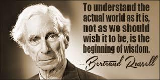 Bertrand Russell:   A Timeless Message  (circa 1959).