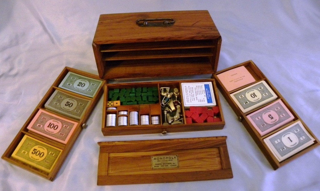 1936 Deluxe Edition Monopoly Game Extremely Rare.