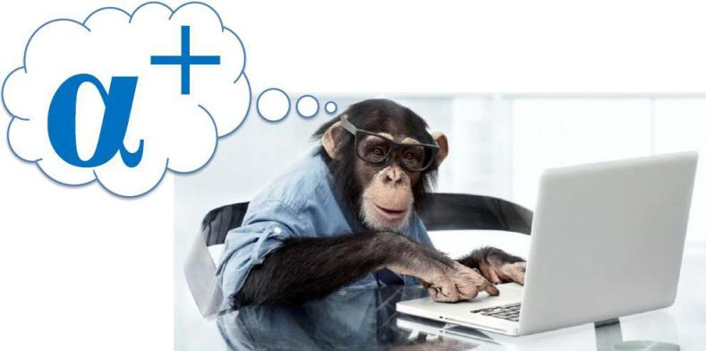 Just One Thing   :   How are we even related? I've always been a rational chimp and a loyal Mac user!
