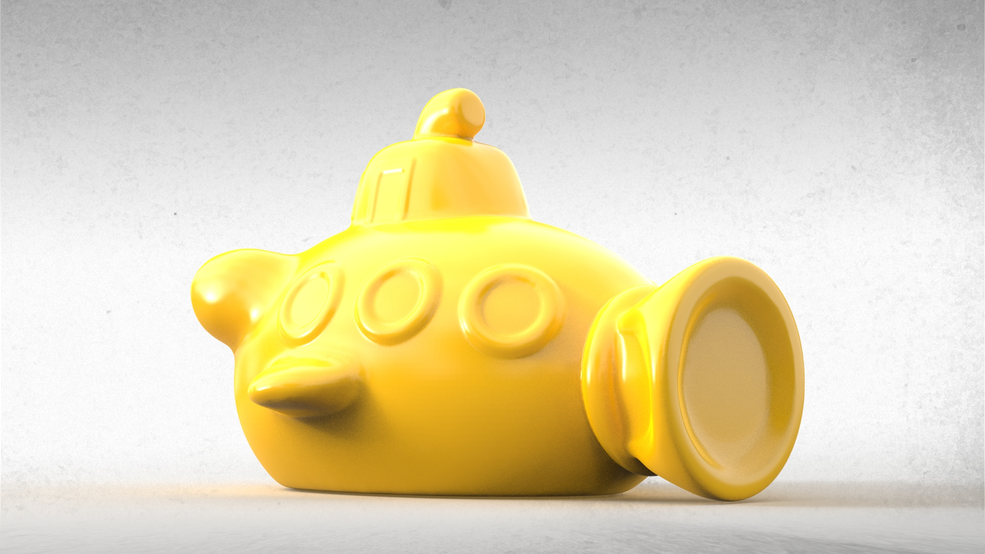 Submarine Bath Toy 02