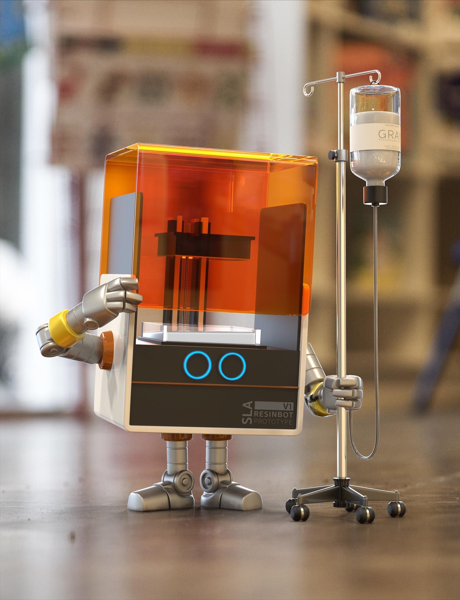ResinBot Prototype V1