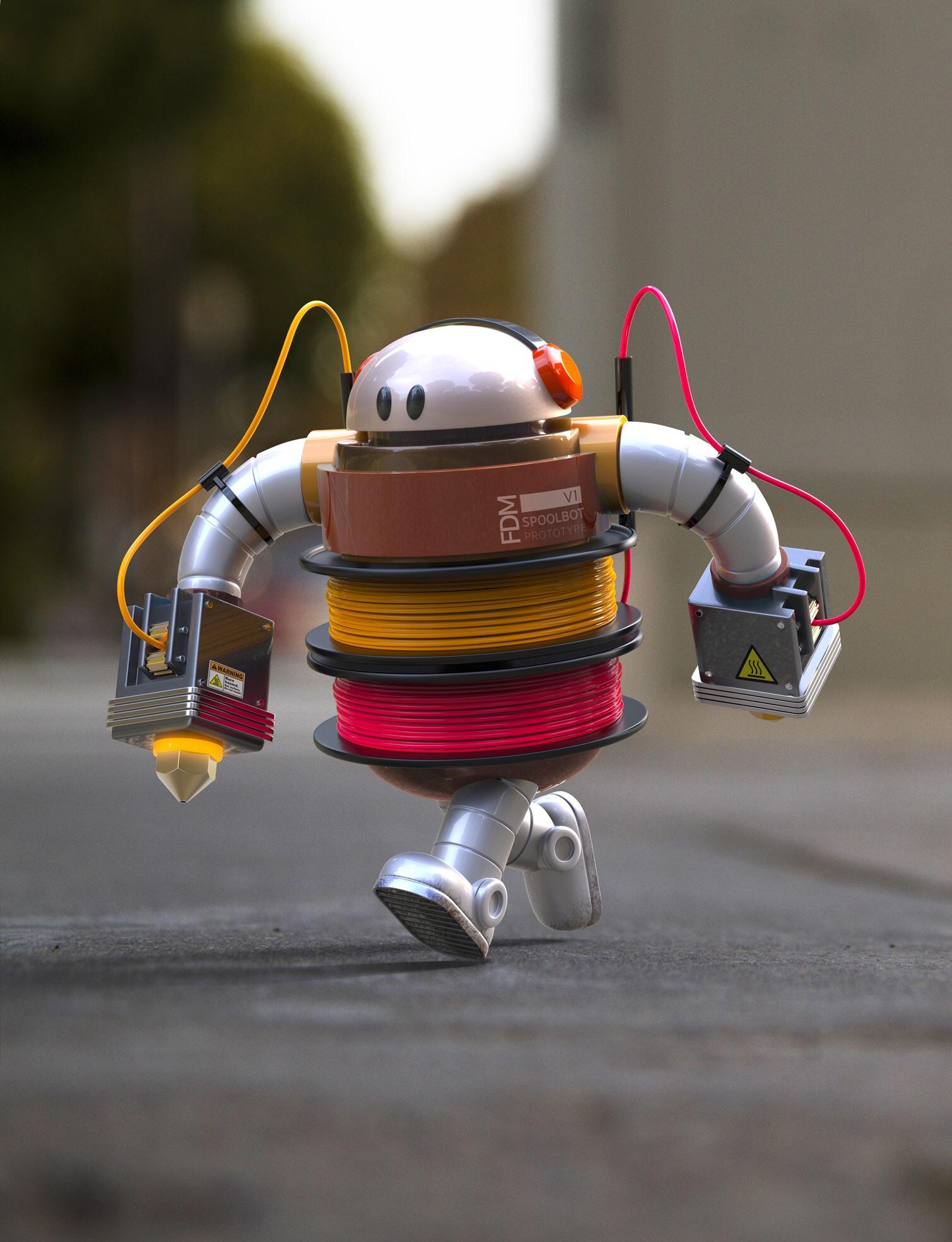 SpoolBot Prototype V1