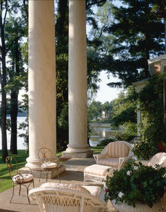 Front portico of Edgewater (ca. 1825), overlooking the Hudson River..jpg