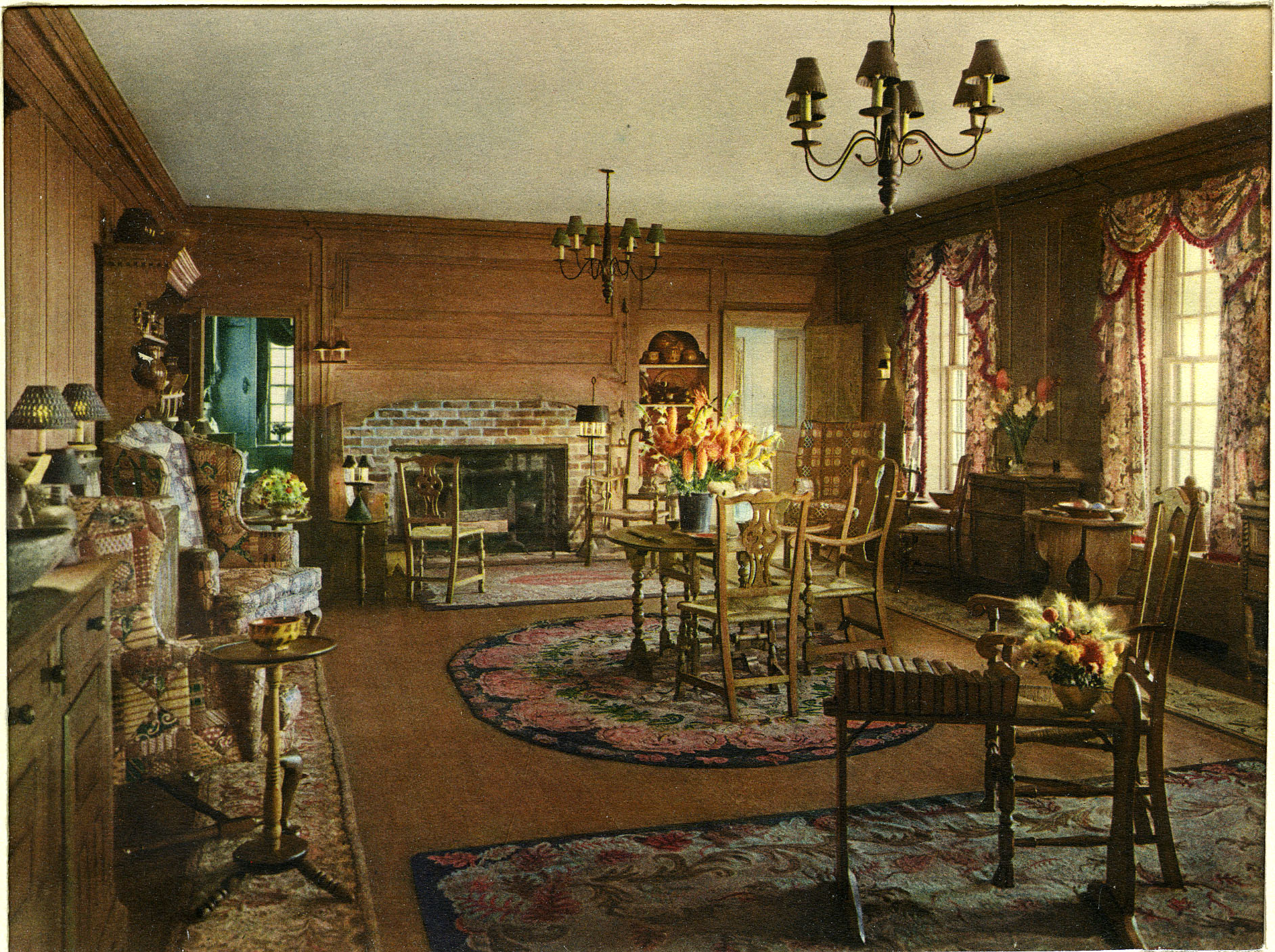 Chestertown House Living Room, Southampton, 1926